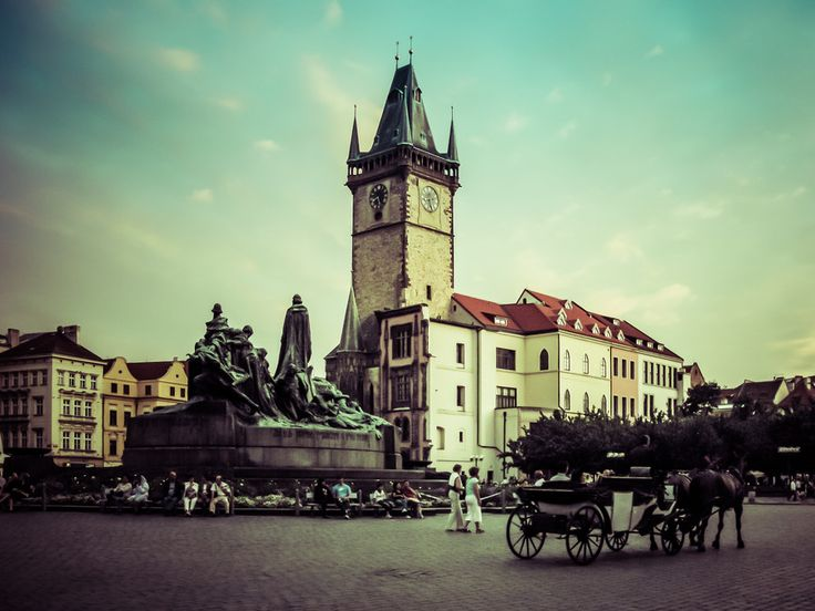 Prague Old Town Square by Alistair Ford on 500px