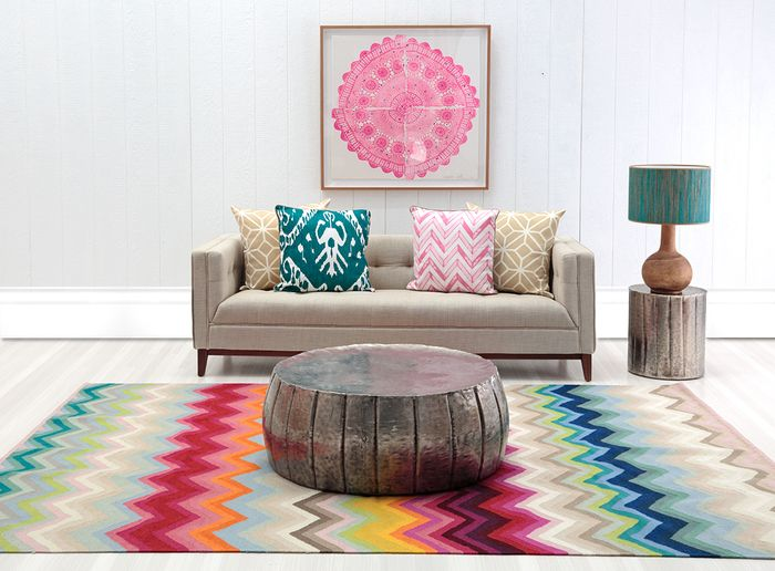 Armadillo Co Chevron Multi Stripe Rug Home Sweethome Pinterest Room Inspiration And