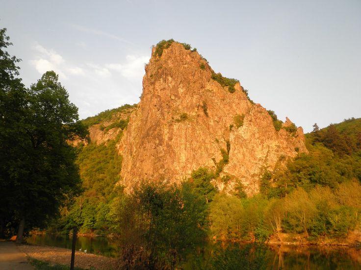 Amazing Felsen bei Bad M nster am Stein