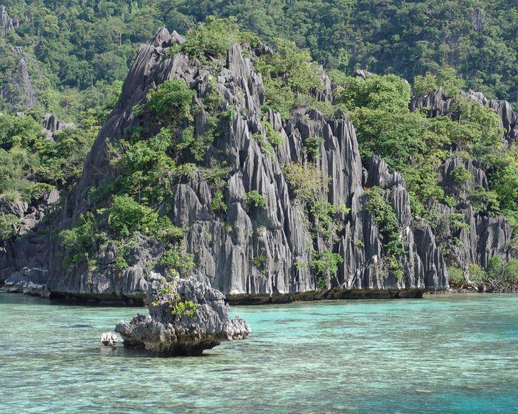 Limestones on Palawan