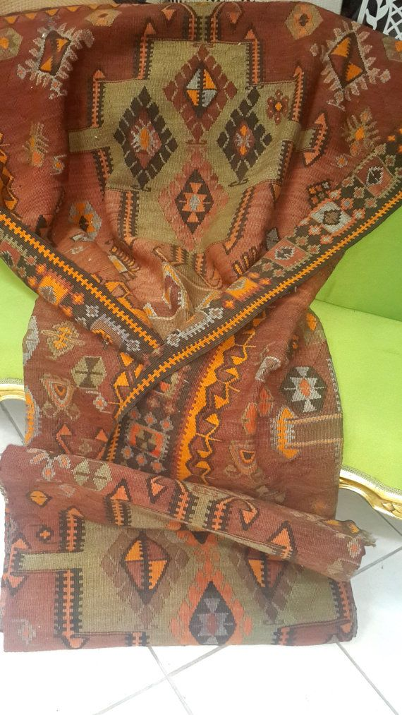 Check out this item in my Etsy shop https://www.etsy.com/listing/211685193/vintage-antique-caucasian-kilims-rugs