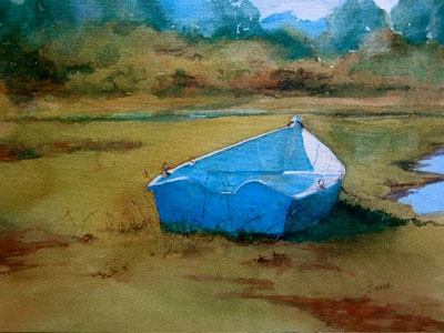 David Burns, Watercolors - Addison Art Gallery, Orleans, MA, Cape Cod Artists