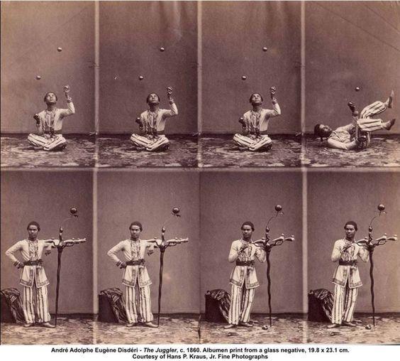 The Juggler (1860), André Disdéri