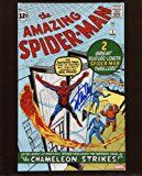 #10: Stan Lee Amazing Spiderman #1 Signed / Autographed 810 Glossy Photo. Includes Fanexpo Certificate of Authenticity and Proof of signing. Entertainment Autograph Original.