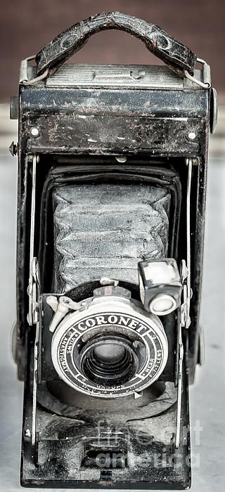 Still life Photography of an Antique  Coronet Camera.