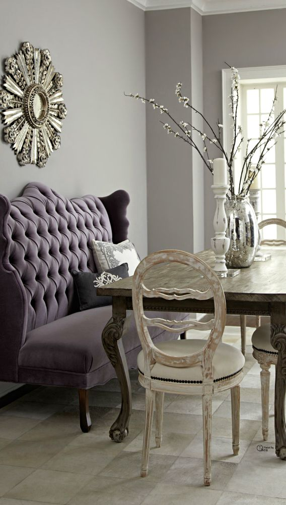 New Style and Comfort to Your House with Dining Banquette: Dining Room  Ideas With Dining Banquette And Dining Chairs Also Dining Table With Settee  Bench ... - 92 Best Images About High Back Sofa On Pinterest Furniture