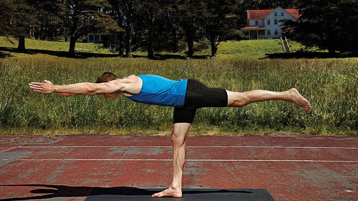 Yoga's combo of active and passive stretching is key for keeping athletes injury-free. Start with these poses.