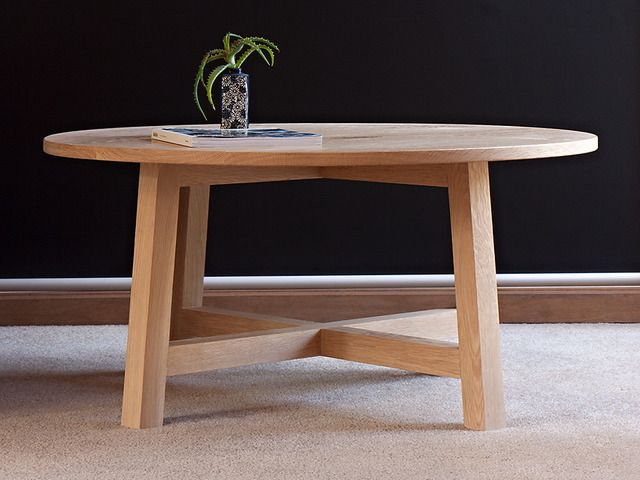 39 Durer 39 Coffee Table By Relm Furniture Oak Round Table Coffee Timber Solid Scandinavian