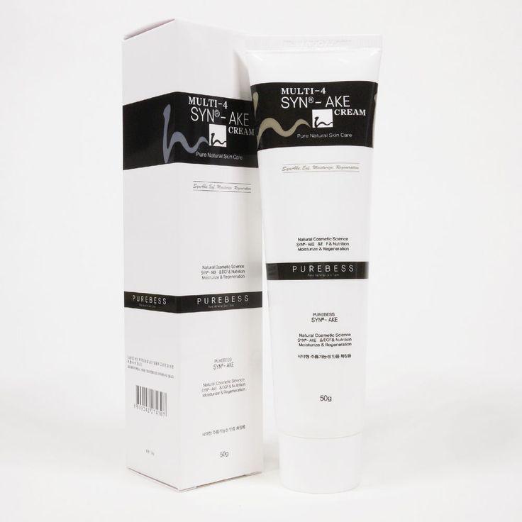 Purebess Multi-4 Syn-ake Cream 50g Anti Wrinkle Snake Venom Cream SYN-AKE 4% #Purebess