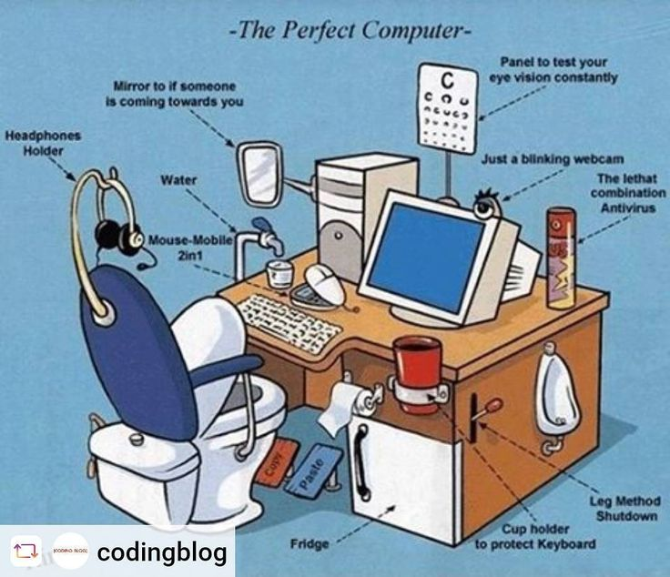 The Perfect Computer. nothing to wash your hands The Perfect Computer nothing to wash your hands