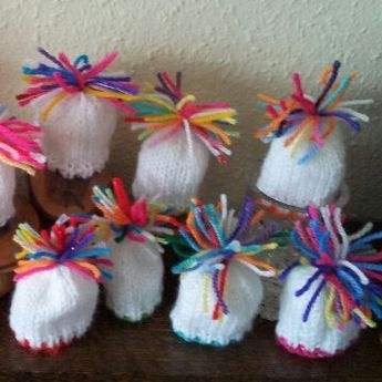 Innocent Smoothies Big Knit Hat Patterns - Odd ends