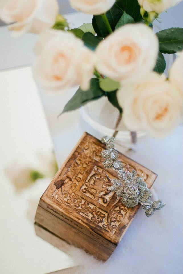 Twigs and Honey + Samantha Wills + Cream Roses in The Babushka Ballerina Bridal Boutique