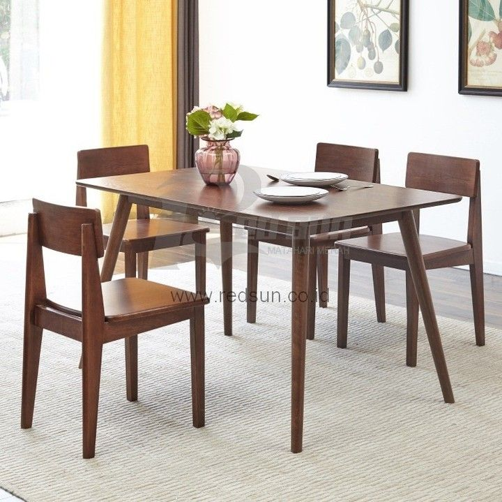 Kursi Makan Dining Chair Bisa Satu Set Dengan Meja Makan