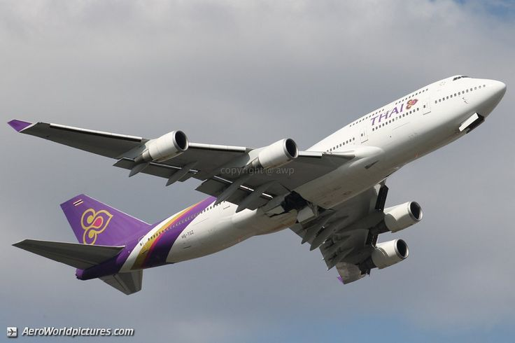 Thai Airways International Boeing 747-4D7