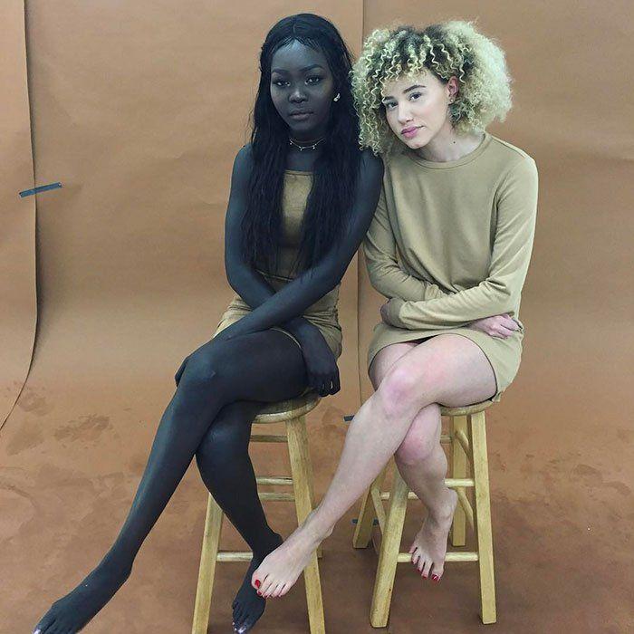 Il y a un an, un chauffeur Uber lui disait de blanchir sa magnifique peau d'un noir profond, pour être plus jolie. Elle ne l'a pas fait… Et elle est devenue model !