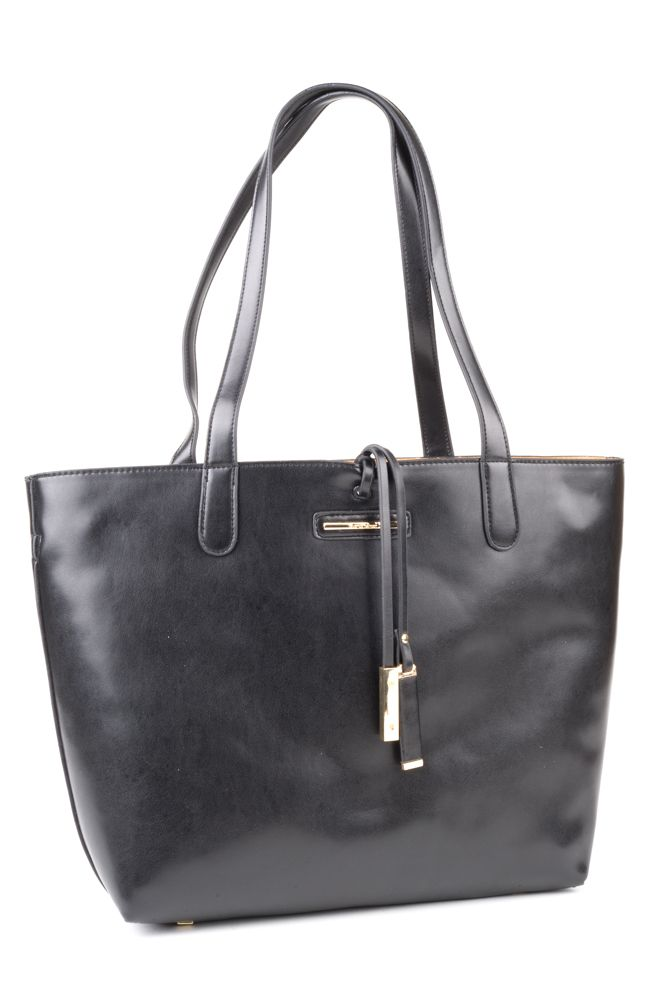 Diana Ferrari Luna bag - Black Smooth