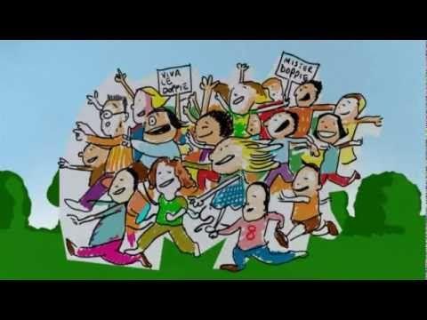 CANTIAMO LA GRAMMATICA - Attenzione alle doppie - Canzoni per bambini di Mela Music - YouTube