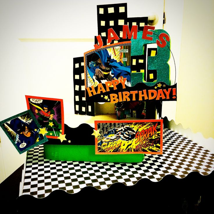 1000+ Images About Kids Comic Book Birthday Party On