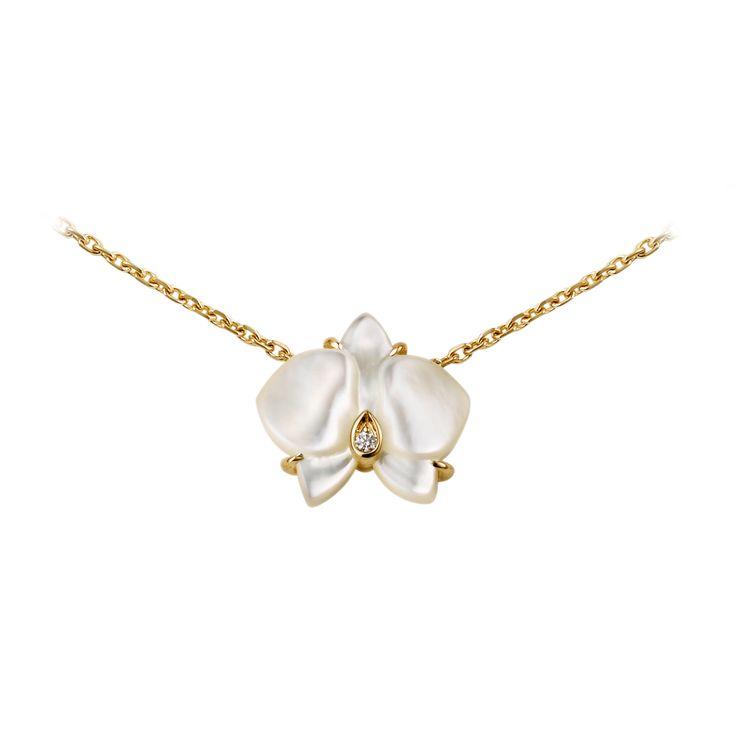 Caresse d'Orchidées par Cartier Collier