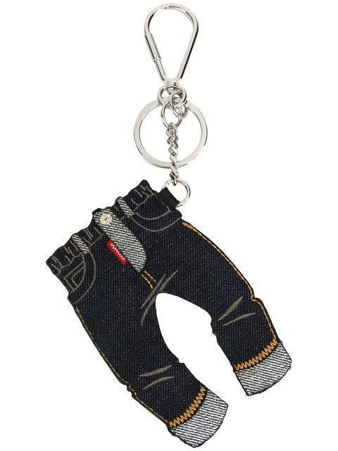 Dsquared2 denim jeans keyring