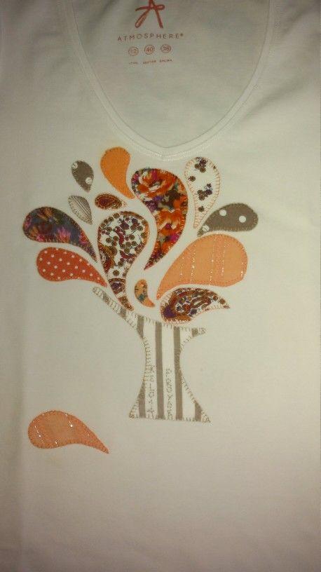 Camiseta arbol de la vida # patchwork