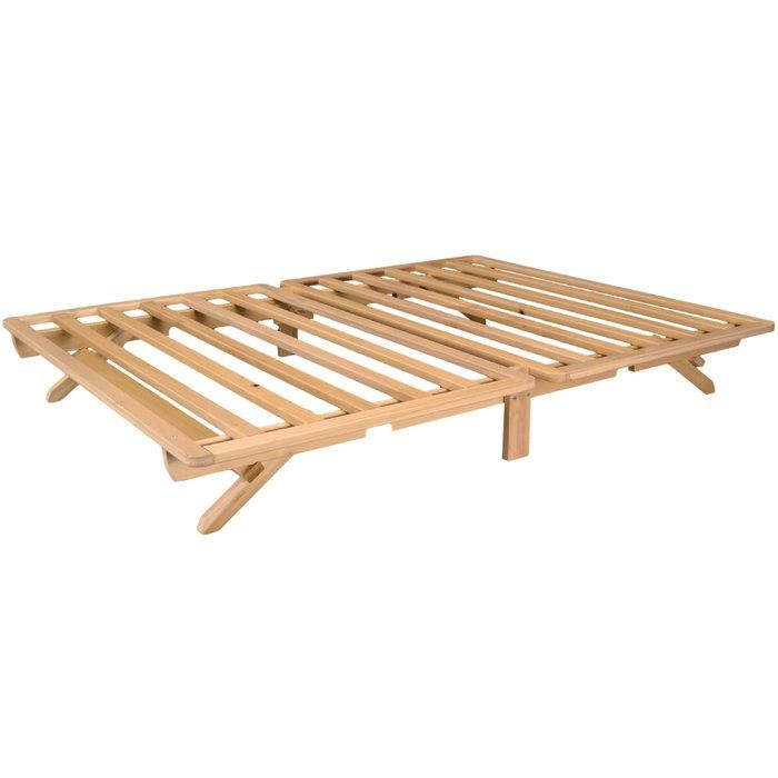 This Fold Bed by is crafted from Tulip Poplar and comes unfinished and chemical-free. Most of our customers choose to leave the wood unfinished, but we do provide finishing instructions for staining or painting. The Fold Bed is proudly made in the USA and ships from Athens, Georgia.
