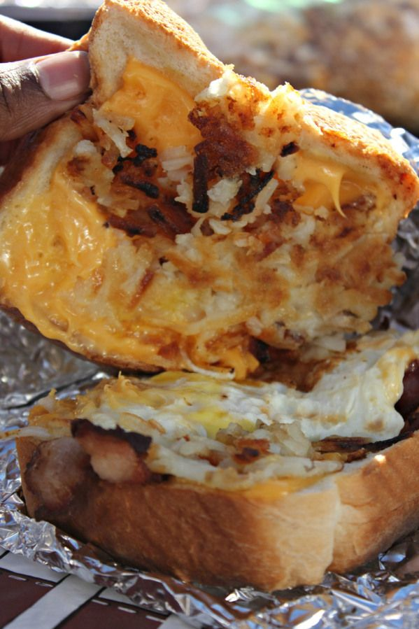 Tailgating Breakfast Sandwiches Brown Sugar