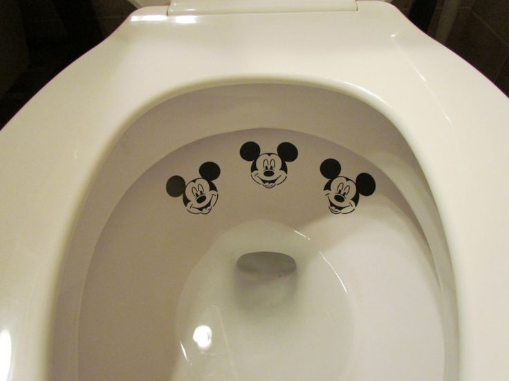 Boy Mickey Mouse Toilet Targets by LilMrsCrafty on Etsy https://www.etsy.com/listing/150504945/boy-mickey-mouse-toilet-targets