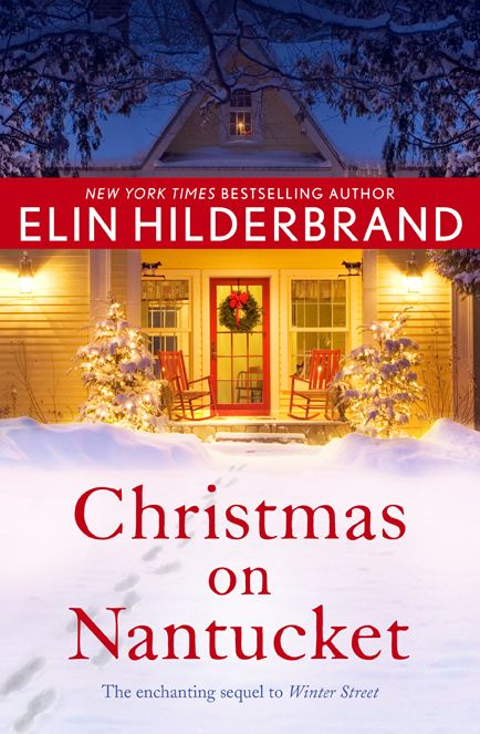 Christmas on Nantucket by Elin Hilderbrand. Book cover design by Natalie Chen.