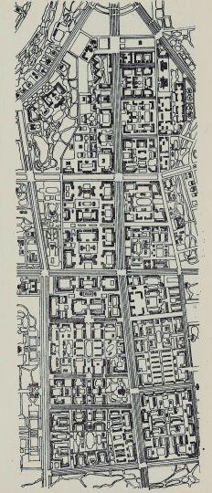 Схема планировки Юго-западного