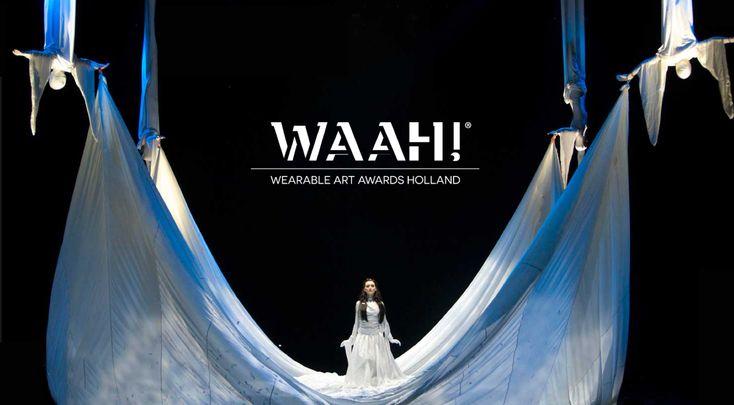 WAAH! Wearable Art Awards Holland 2016,  28 en 29 mei in Alkmaar #fashion #mode #waah2016