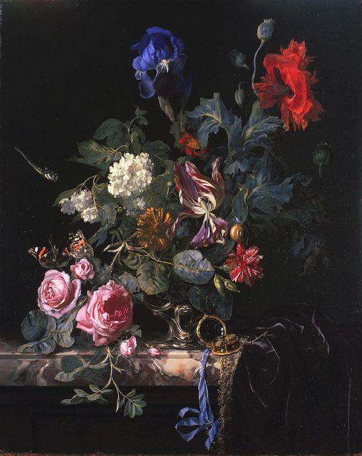 via little flower school + saipua : dutch artist Willem Van Aelst