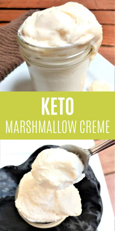Keto Jet Puffed Marshmallow Creme Fluff Recipe | Recipe in ...