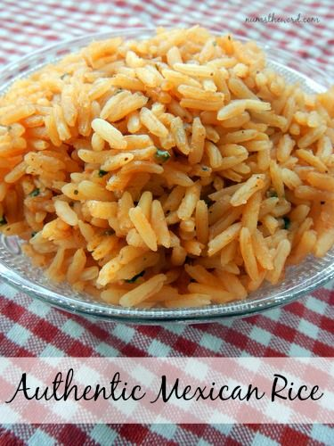 We've tried a LOT of Mexican/Spanish rice's and this is our favorite.  It's easy and delicious.  Perfect side to any meal!