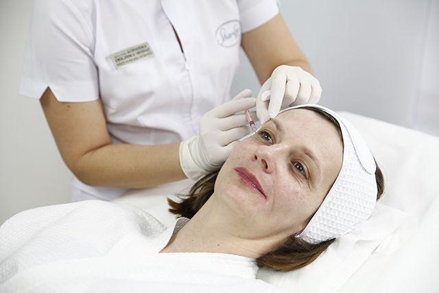 Dzięki Botoxowi zredukowaliśmy kurze łapki wokół oczu.