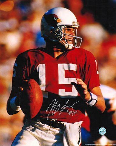 Autographed Neil Lomax St. Louis Cardinals (Football) 8x10 Photo
