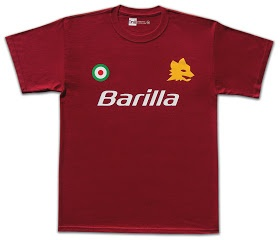 1nil modern-retro football shirts: Roma 1981.