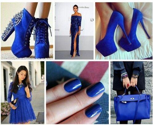 Lovely blue heels