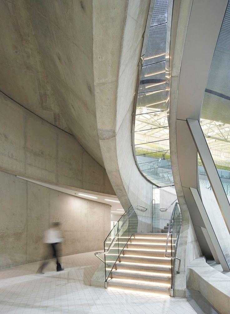 'London Aquatics Centre' for the London 2012 summer Olympics by Zaha Hadid Architects