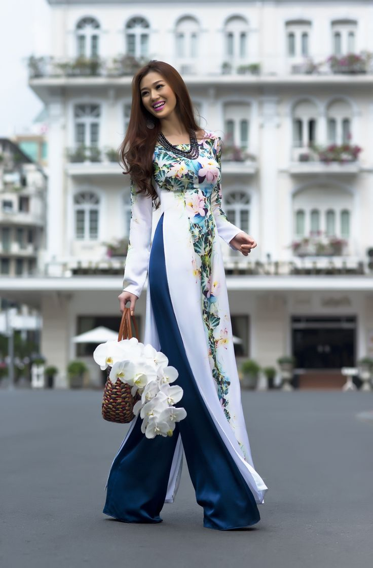 Best 25 Ao Dai Ideas On Pinterest Traditional Dresses