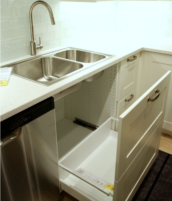 ikea kitchen sink cabinet installation best 25 sink dishwasher ideas on 17694