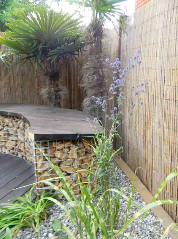 109 best Gabion Garden Features images on Pinterest Gabion wall