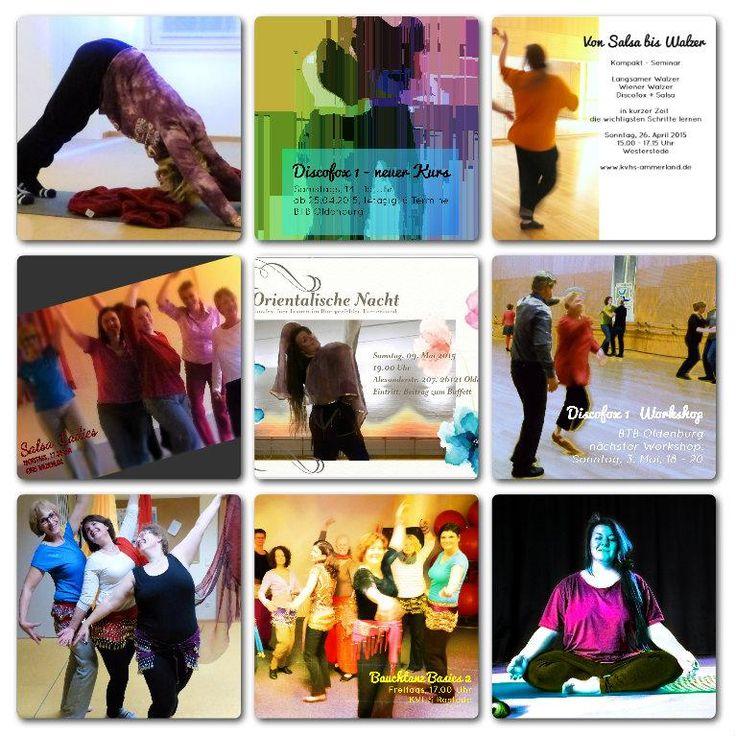 Orientalische Nacht - Bauchtanz, Yoga, Salsa Ladies + Discofox in Oldenburg und Umgebung - alle Infos zu den neuen Kursen http://eepurl.com/bjyTzT