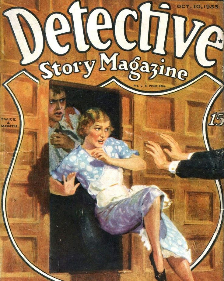 17 Best Images About Detective Story Magazine On Pinterest