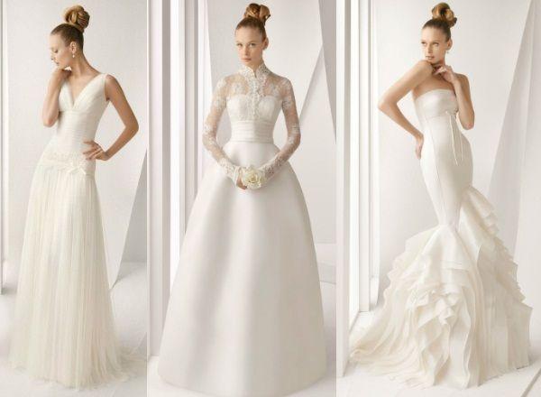 Новые выкройки свадебных платьев в 2014 году