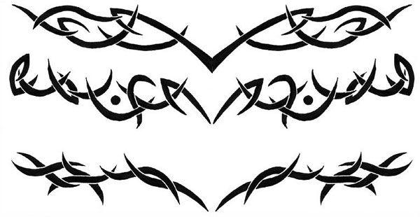 lower back tribal tattoo 25 Beautiful Lower Back Tattoos