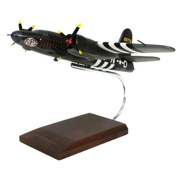 Daron Worldwide Glenn Martin B-26B/C Marauder Flak Bait Model Airplane - AB26BCT