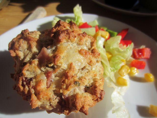 Gunns momsemat: Matmuffins med ost og skinke