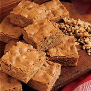 brownie recipe | Maple Butterscotch Brownies Recipe | Taste of Home Recipes