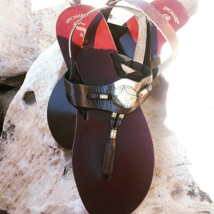 #goodday #goodmorning #sandals #euterpe #handcrafted #ippomare #summermood #summerfashion #timless #genuine  #genuineleather  #darkbrown #Hellas  #greece #nature  #sea #nexttopmodel #choice #thursday ☺